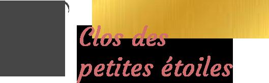 logo Clos des petites étoiles